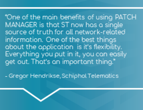 Case Study: PATCH MANAGER Deployment at Amsterdam Airport Schiphol