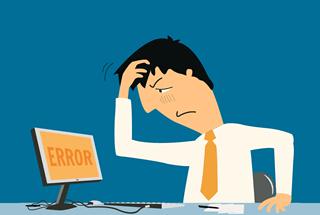 error message computer