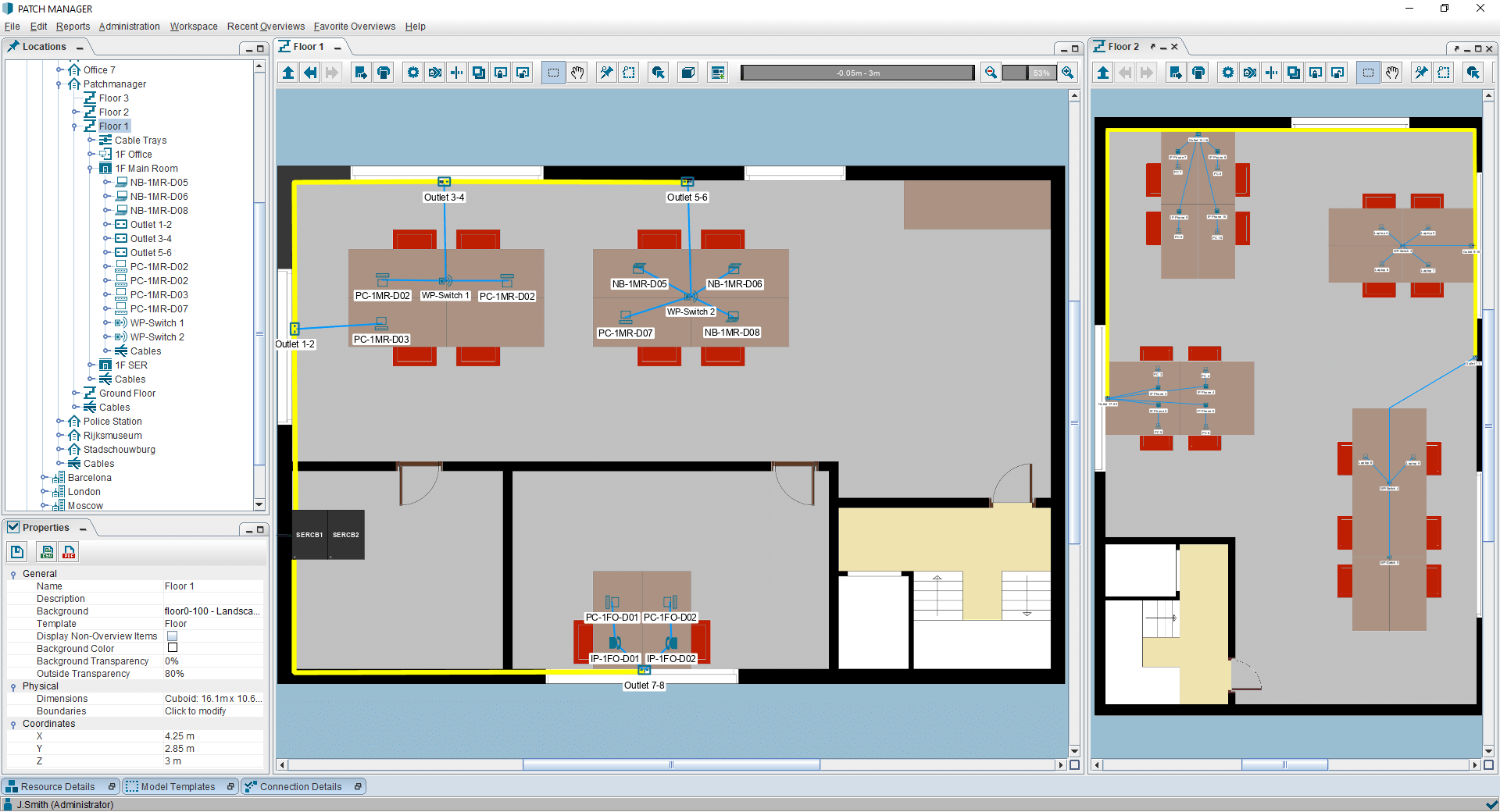 PATCH MANAGER office location overview