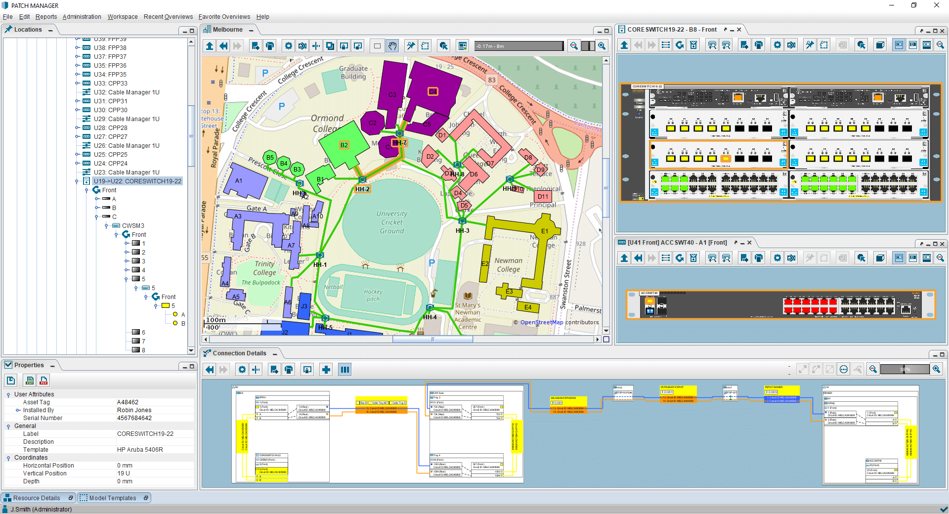 PATCH MANAGER campus overview