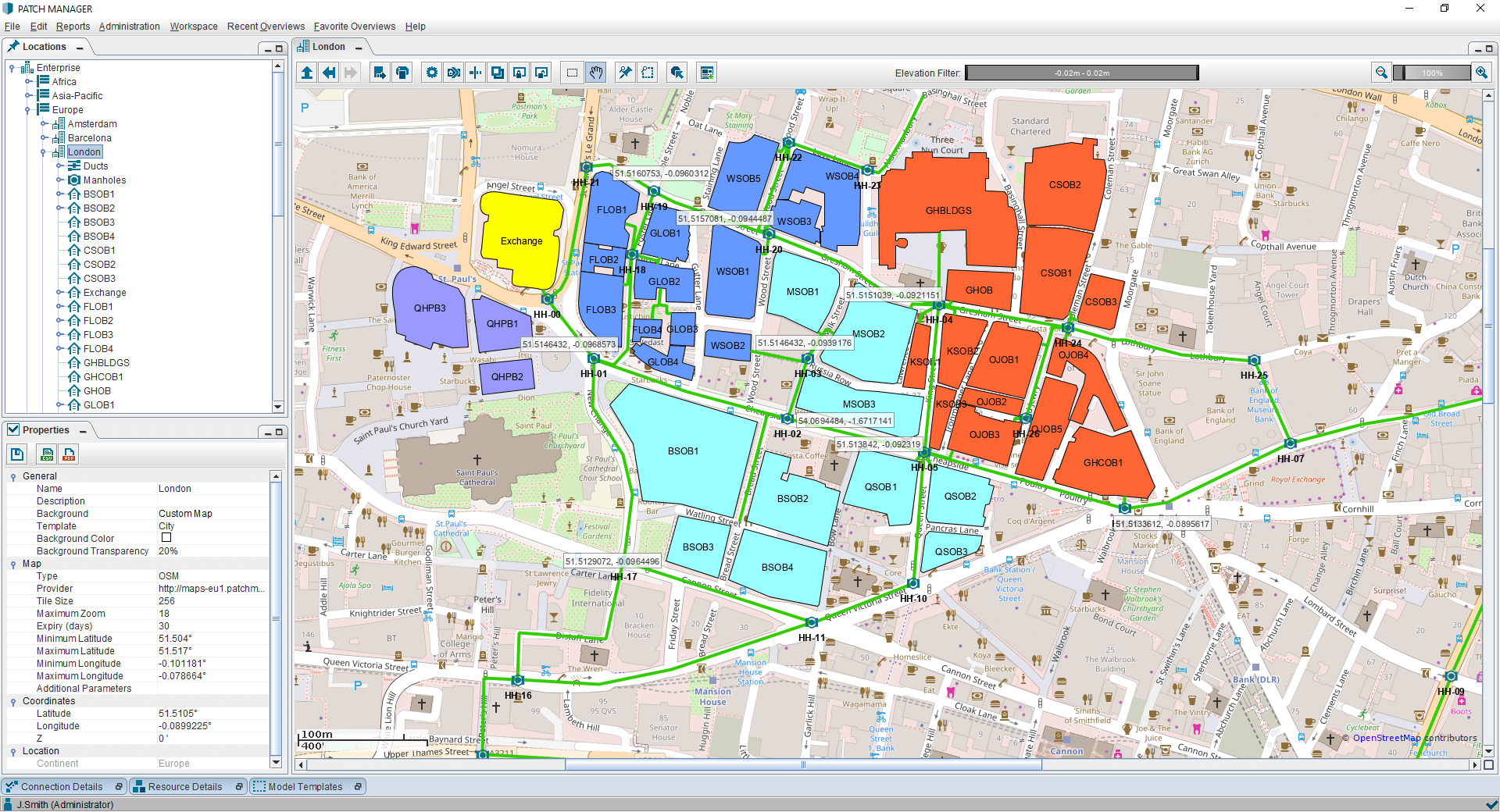 PATCH MANAGER GIS extension